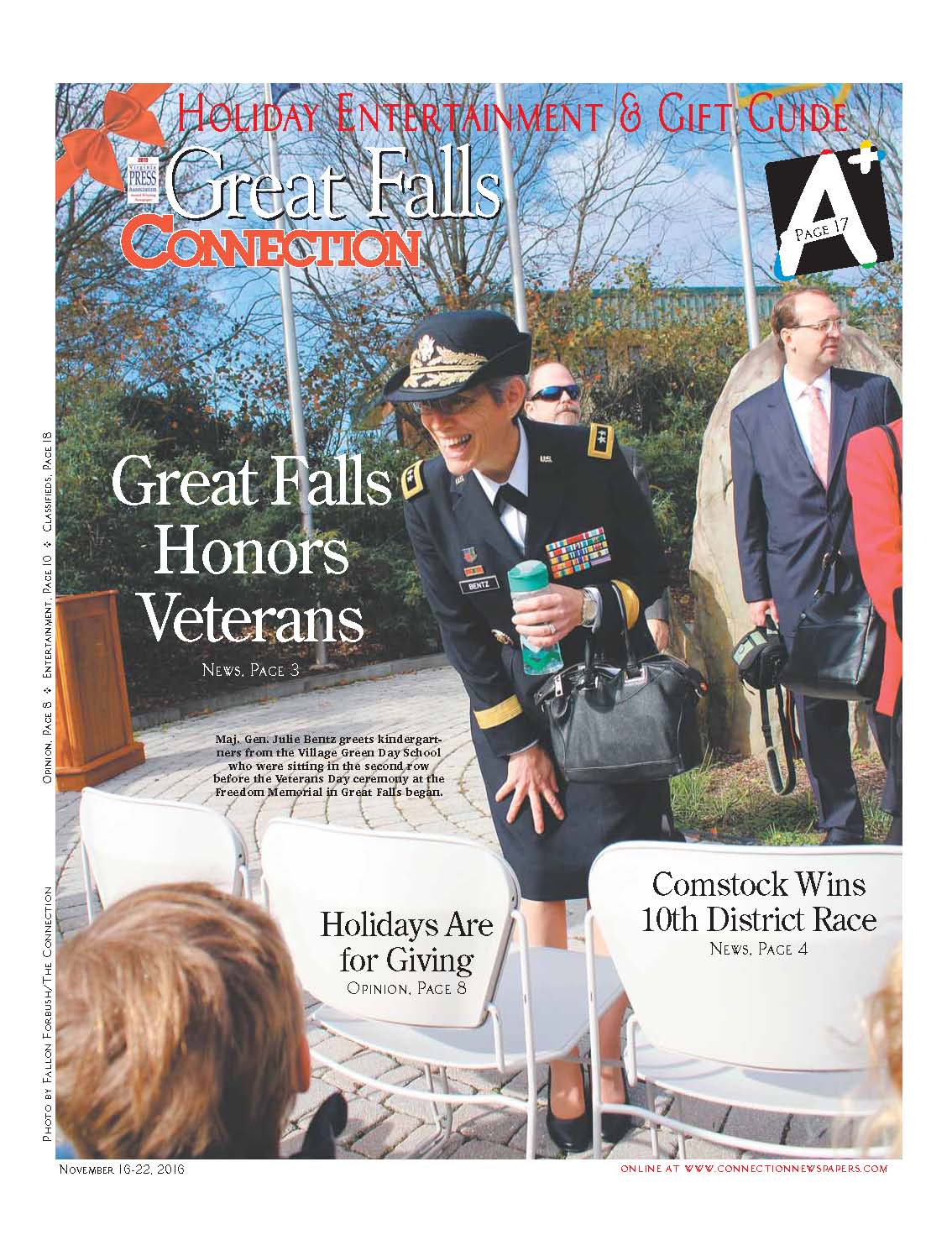 Great Falls Connection, November 16, 2016